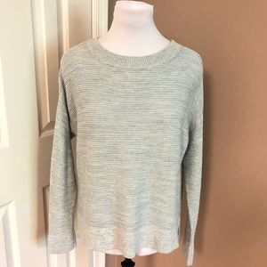 LOFT l Lightweight Cotton Waffle Weave Sweater